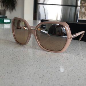 Rose color Burberry sunglasses!